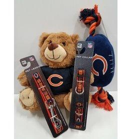 Pets First Bear's Bundle (1) Teddy Bear (1) Football (1) Collar (1) Leash