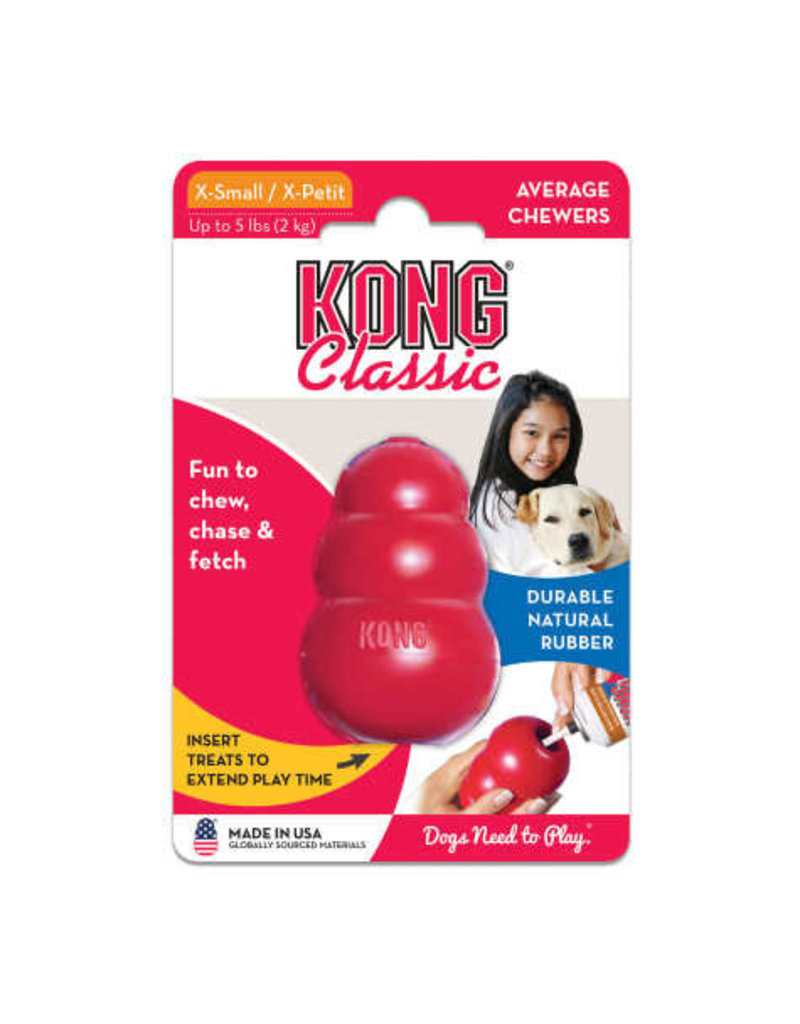 Kong Kong Classic Dog Toy X-Small