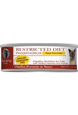 Dave's Pet Food Dave's Pet Food Restricted Diet Phosphorus Chicken in Sauce Canned Cat Food 5.5oz