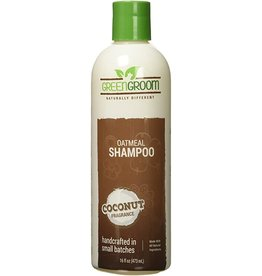 GreenGroom Oatmeal Shampoo Coconut Fragrance 16oz