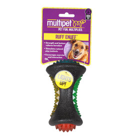 Multi Pet Multipet Diamond Bone Dog Toy 4.5""