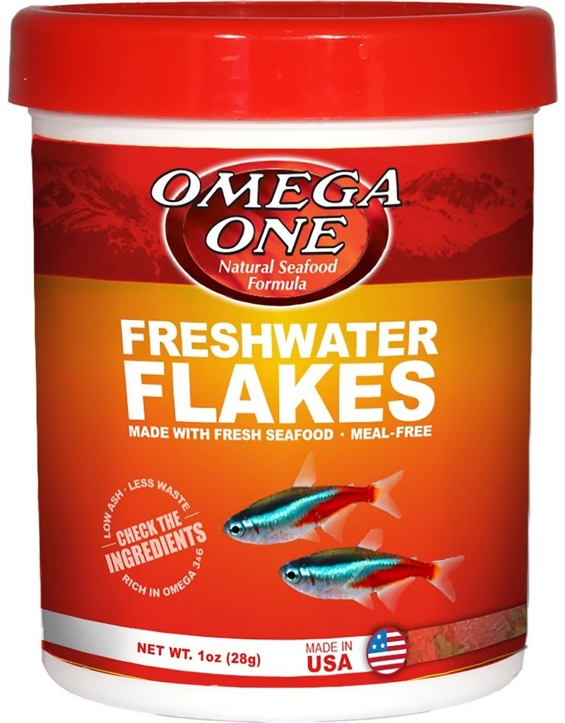 Omega One Omega One Freshwater Flakes Fish Food