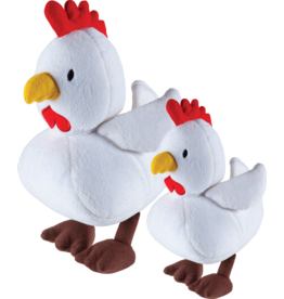 Emerald Pet Emerald Pet Snug N Tug Chicky Plush Small Dog Toy