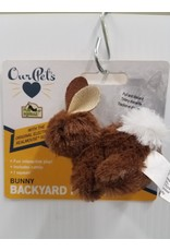Our Pets Our Pets Backyard Friend Bunny Cat Toy