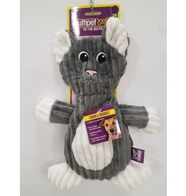 Multi Pet Multipet Flap Jacks Corduroy Crinkle Dog Toy
