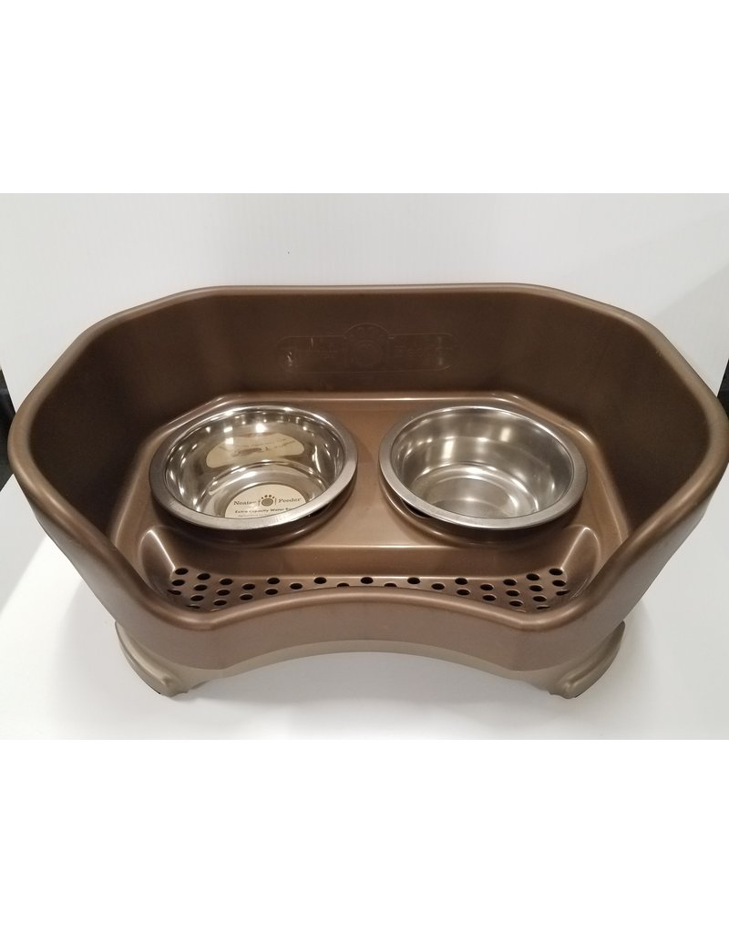 Neater Feeder Elevated Dog Bowls Small, Bronze