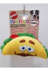 """Ethical Products Spot Fun Food Taco Dog Toy 6"""""""