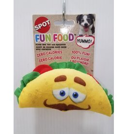 Ethical Products Spot Fun Food Taco Dog Toy 6""