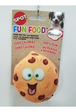"""Ethical Products Spot Fun Food Chocolate Chip Cookie Dog Toy 4"""""""
