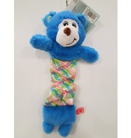 "Dog It Dogit Stuffies Pastel Blue Bear 12"" Dog Toy"
