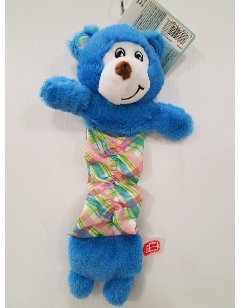 """Dog It Dogit Stuffies Pastel Blue Bear 12"""" Dog Toy"""