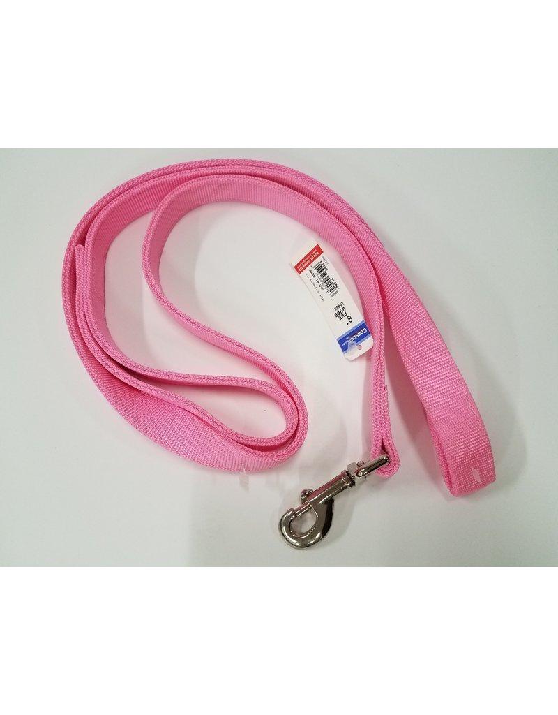 "Coastal Coastal 1"" Double Thick Pink Dog Leash 6 ft"