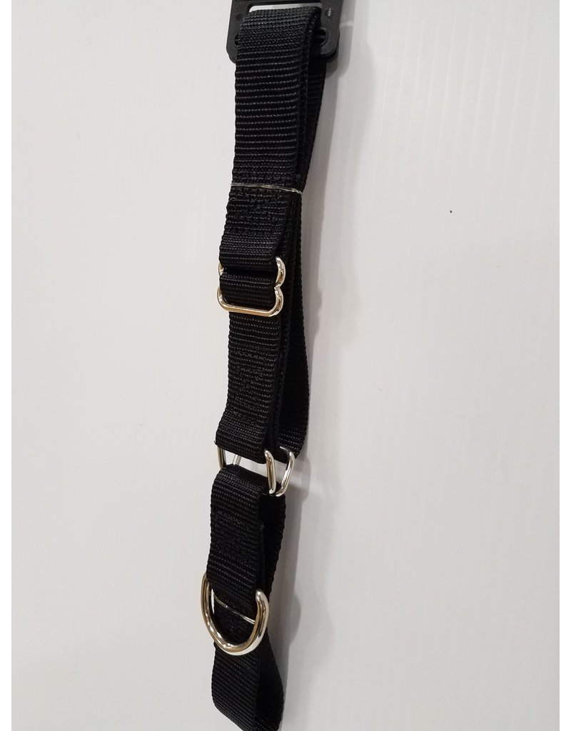 "Guardian Guardian Gear 1"" Martingale Black Collar 18""-26"""