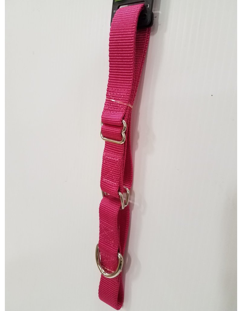 "Guardian Guardian Gear 1"" Martingale Raspberry Collar 18""-26"""