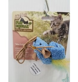 Our Pets Kitten Play and Squeak Wee Catch of the Day Cat Toy