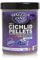 Omega One Omega One Cichlid Small Super Color Pellets Sinking