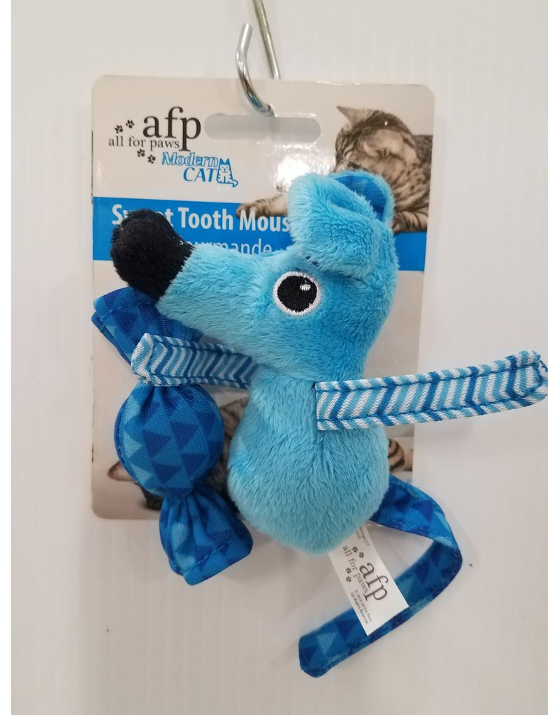 All For Paws Modern Cat Sweet Tooth Mouse Cat Toy