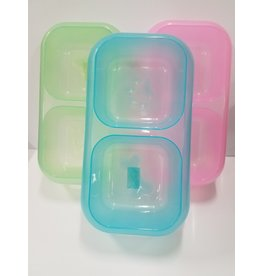 Pet Studio Pet Studio Neon Dinner Bowl Large 1 Each