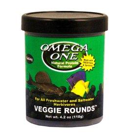 Omega One Omega One Veggie Rounds 4.2oz