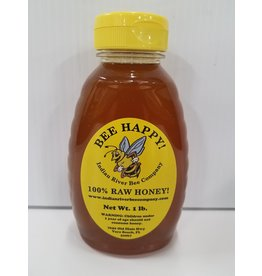 Indian River Bee Company 100% Raw Honey 16oz Bottle