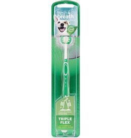 Tropiclean Fresh Breath Flex Small Toothbrush for Dogs