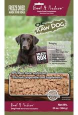 OC Raw Dog OC Raw Dog Freeze Dried Meaty Rox Beef & Produce Dog Food 20oz