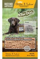 OC Raw Dog OC Raw Dog Freeze Dried Meaty Rox Chicken & Produce Dog Food 20oz