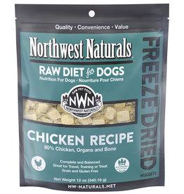 Northwest Naturals Freeze Dried Nuggets Chicken Recipe Dog Food 12oz