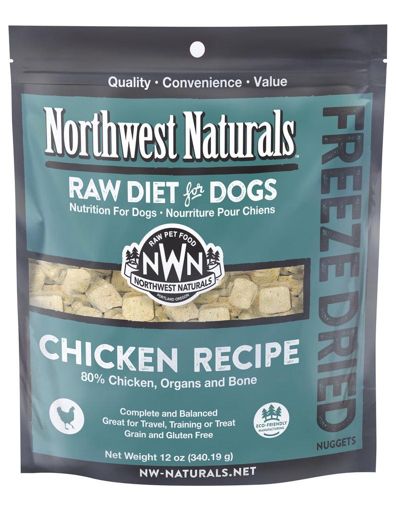 Northwest Naturals Northwest Naturals Freeze Dried Nuggets Chicken Recipe Dog Food 12oz
