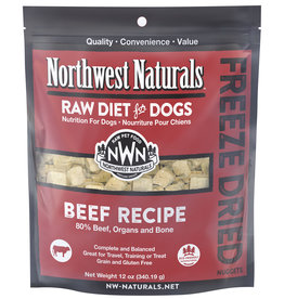 Northwest Naturals Freeze Dried Nuggets Beef Recipe Dog Food 12oz