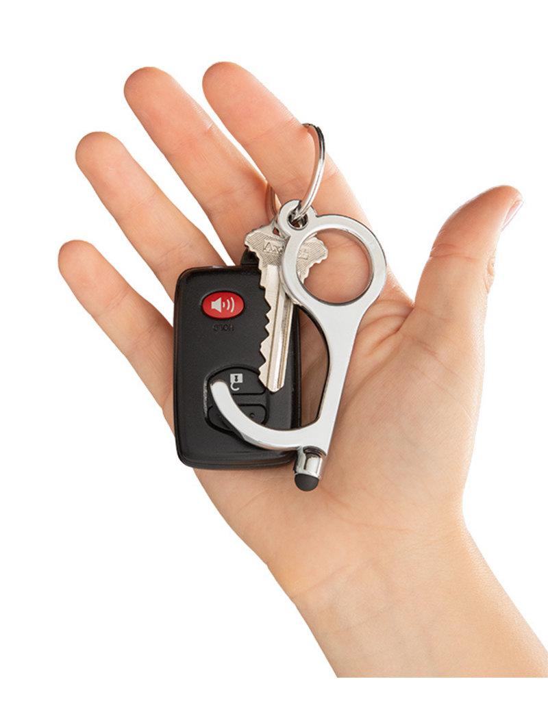 Touchless Door Opener Tool Key w/ Stylus Tip