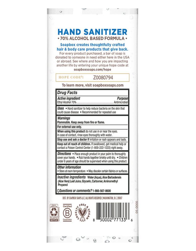 Soapbox Hand Sanitizer 8oz