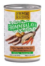 Fromm Family Foods Frommbalaya Turkey, Vegetable, & Rice Stew Canned Dog Food 12.5oz