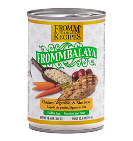 Fromm Family Foods Frommbalaya Chicken, Vegetable, & Rice Stew Canned Dog Food 12.5oz