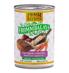 Fromm Family Foods Frommbalaya Pork, Vegetable, & Rice Stew Canned Dog Food 12.5oz