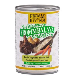 Fromm Family Foods Frommbalaya Lamb, Vegetable, & Rice Stew Canned Dog Food 12.5oz