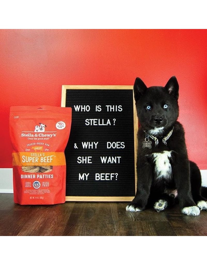 Stella & Chewy's Stella & Chewy's Super Beef Freeze-Dried Dinner Patties for Dogs