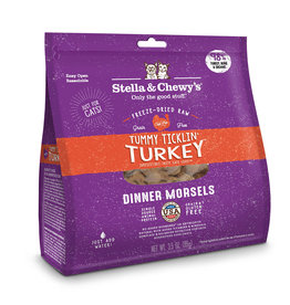 Stella & Chewy's Stella & Chewy's Freeze Dried Dinner Morsels for Cats Tummy Ticklin Turkey 3.5oz