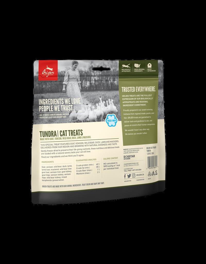 Orijen Orijen Freeze Dried Cat Treats Tundra 1.25oz