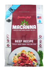 Grandma Lucy's Grandma Lucy's Macanna Beef Recipe Freeze-Dried Dog Food 3lb