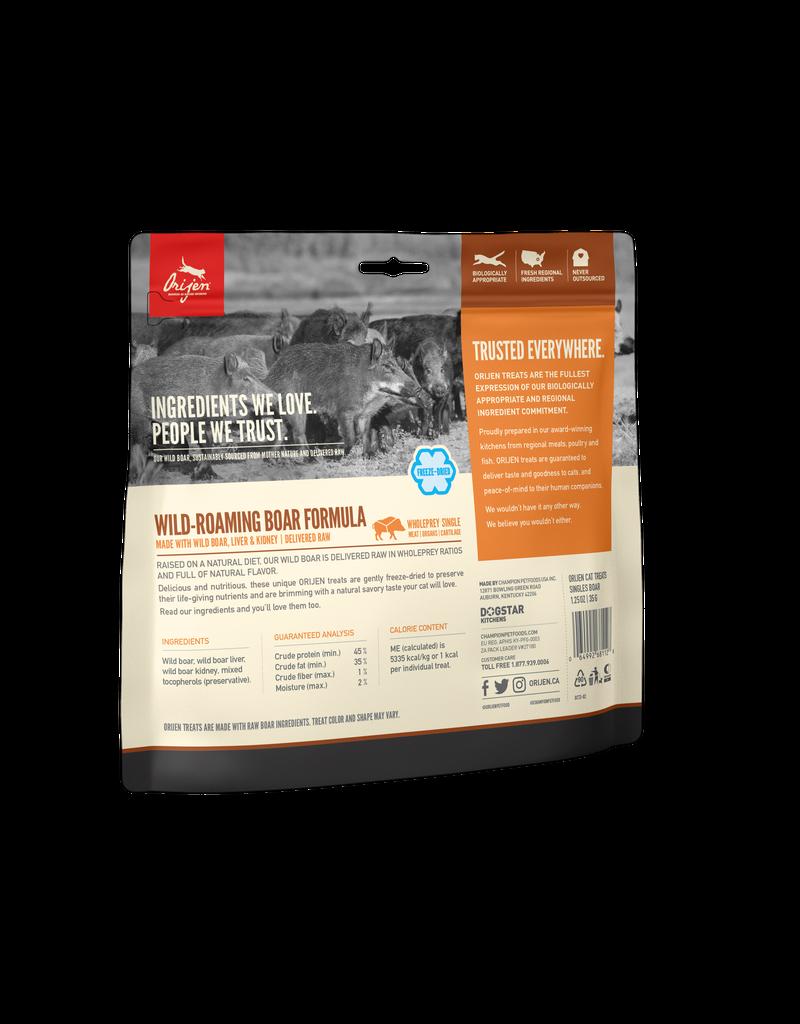 Orijen Orijen Wild-Roaming Boar Freeze-Dried Cat Treats 1.25oz
