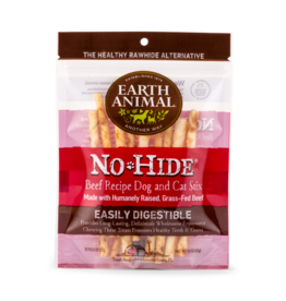 Earth Animal Earth Animal No Hide Beef Stix Dog Chews 10 pack