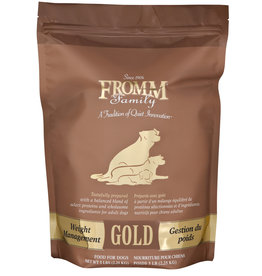 Fromm Family Foods Fromm Gold Weight Management Dry Dog Food - More Sizes Available