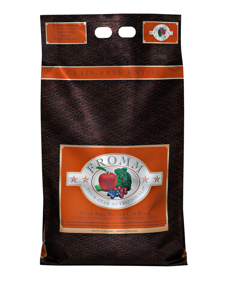 Fromm Family Foods Fromm Four Star Game Bird Dry Cat Food