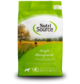 NutriSource Super Premium Pet Foods NutriSource Weight Management Chicken & Rice Formula Dry Dog Food - More Sizes Available
