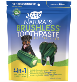 Ark Naturals Ark Naturals Breath-Less Brushless Toothpaste Large 40+lbs Dog Chews 18oz