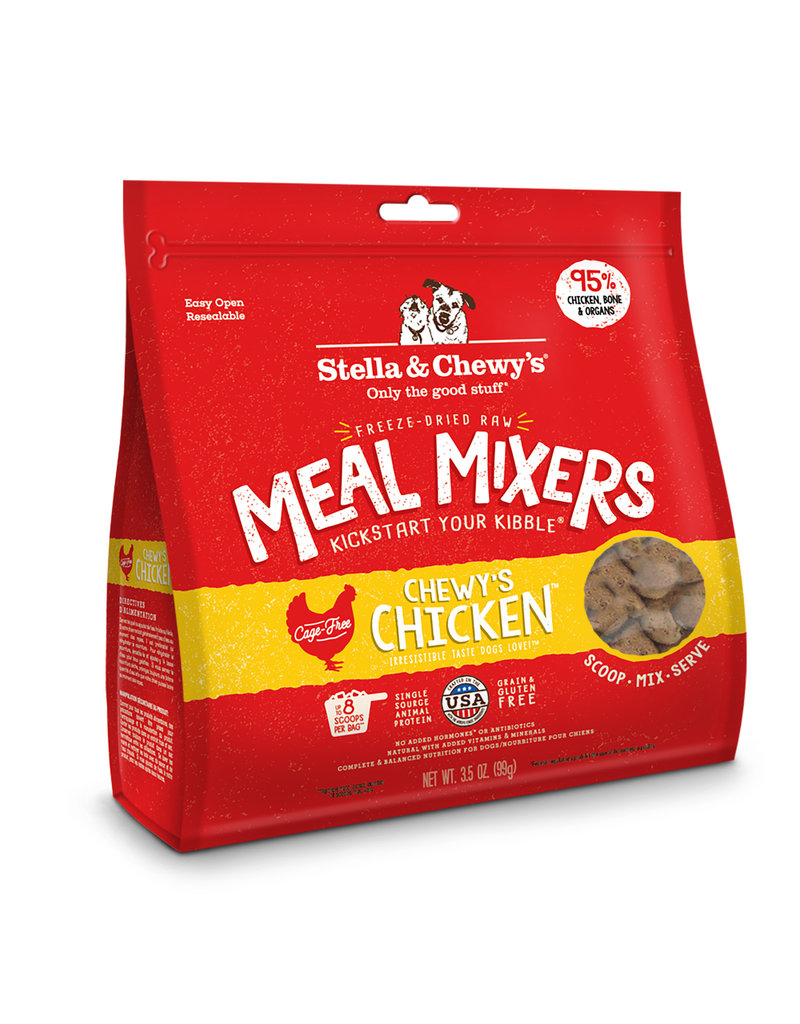 Stella & Chewy's Stella & Chewy's Chicken Freeze-Dried Raw Meal Mixer for Dogs