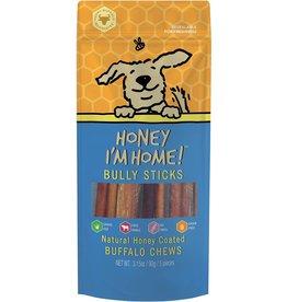 """Honey I'm Home Honey I'm Home 6"""" Bully Sticks Dog Chews 5pk"""