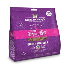 Stella & Chewy's Stella & Chewy's Freeze Dried Dinner Morsels for Cats Yummy Lickin Salmon & Chicken
