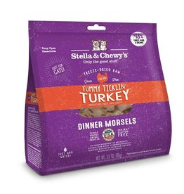 Stella & Chewy's Stella & Chewy's Freeze Dried Dinner Morsels for Cats Tummy Ticklin Turkey